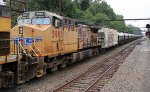 UP 5983 second on CSX K711 empty oil